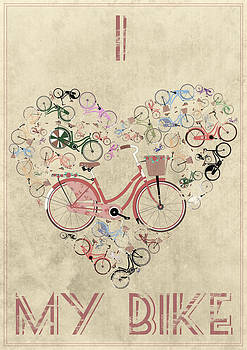 I Heart My Bike by Andy Scullion