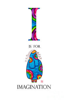 I is for Imagination by Emily Lupita Studio