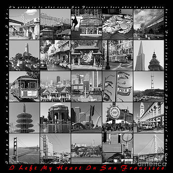 Wingsdomain Art and Photography - I Left My Heart In San Francisco 20150103 bw with text