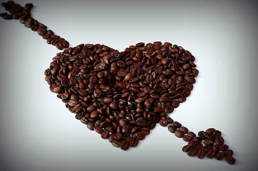 I Love Coffee by Riad Belhimer