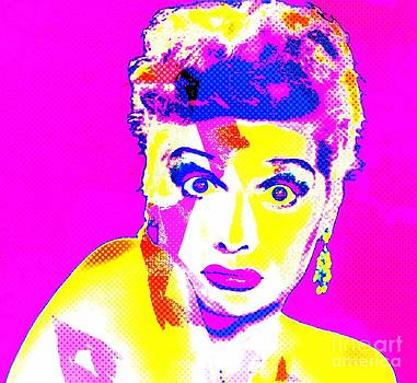 I Love Lucy Pop by Kevin Moore