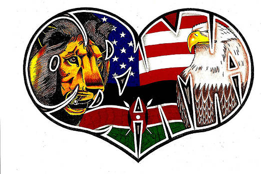 I Love Obama The President With Kenyan Roots by Alexis Heath