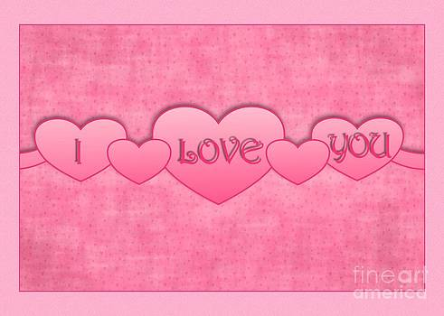 JH Designs - I Love You Banner