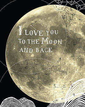 I love you to the moon and back by Cindy Greenbean