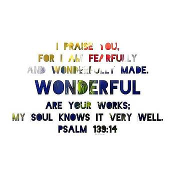 i Praise You, For I Am Fearfully And by Traci Beeson