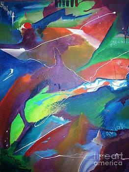 I swim with the fish by Nik Olajuwon Shumway