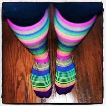 Striped Socks by Rebecca Kowalczik