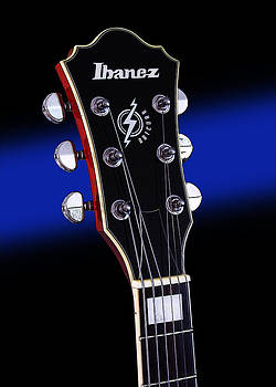 John Cardamone - Ibanez AF75 Electric Hollowbody Guitar Headstock
