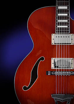John Cardamone - Ibanez AF75 Hollowbody Electric Guitar Front View