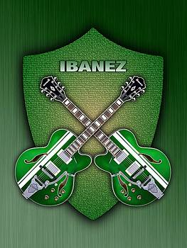 Ibanez geen shield by Doron Mafdoos