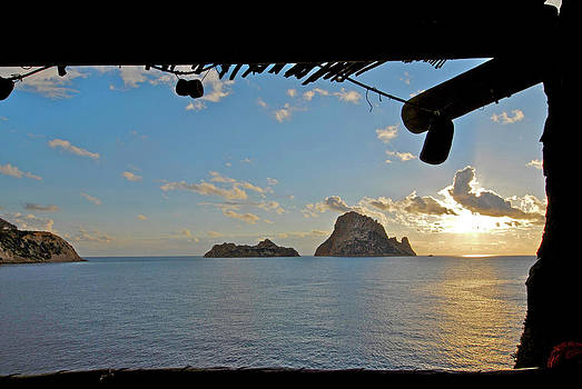 Es Vedra at sunset by Nano Calvo