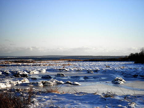 Kate Gallagher - Ice and Snow on the Marshes