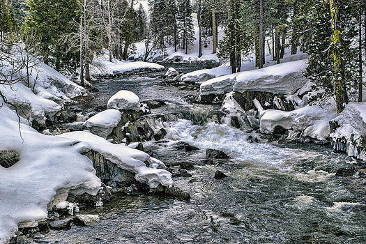William Havle - Ice Blue Yuba At Soda Springs