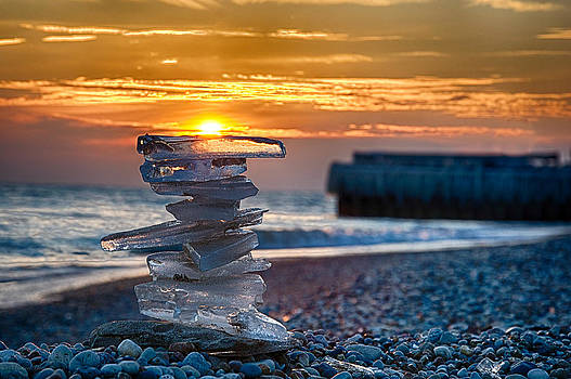Ice Candle by Michael  Bennett