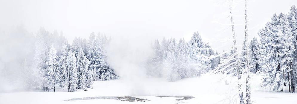 Winter Landscape-Ice Cold by Feryal Faye Berber