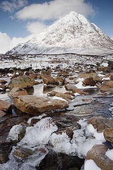 Ice flow by Bob Falconer