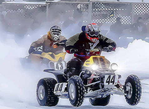 Ice Racing by David Thurau