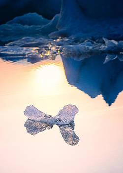 Ice sculpture at sunset by Vinicios De Moura
