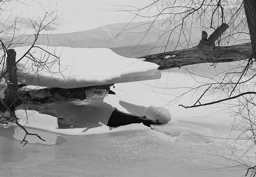 Ice shelf by Kevin Snider