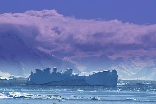 Iceberg Shipwreck by DerekTXFactor Creative