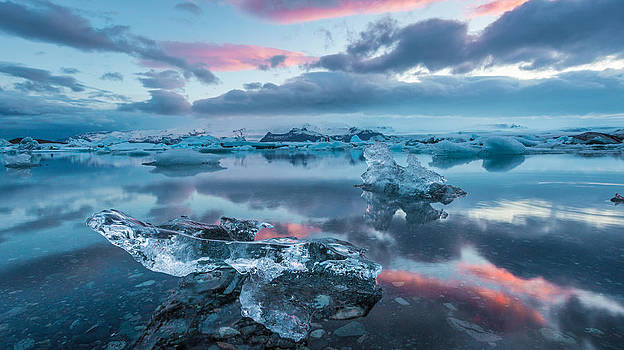 Iceland Daybreak by Mike  Walker