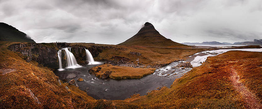 Iceland Kirkjufellfoss by Nina Papiorek