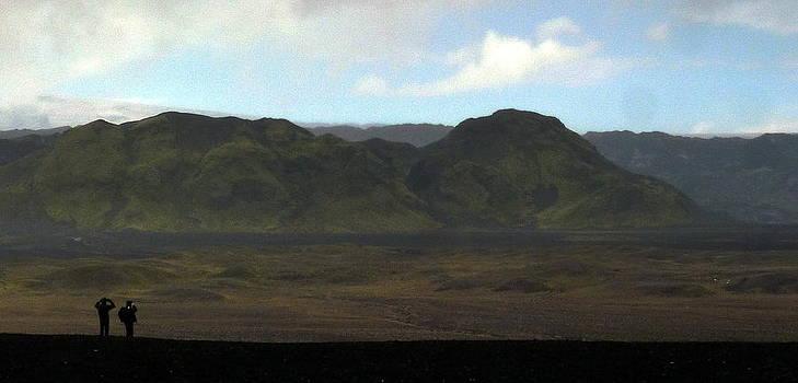 Iceland landscape  by Halldor  Sigurdsson