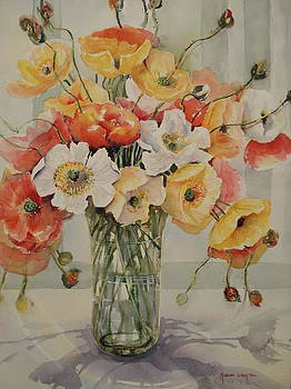 Iceland Poppies  by Marion Langton