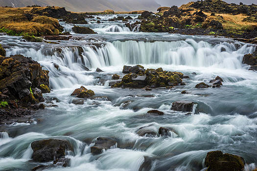 Iceland Stream by Mike  Walker