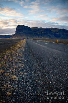 Icelandic highway by Miso Jovicic