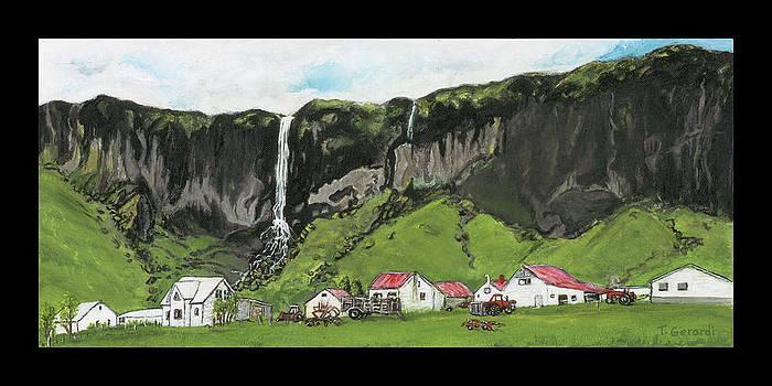 Icelandic homestead by Anthony Gerardi