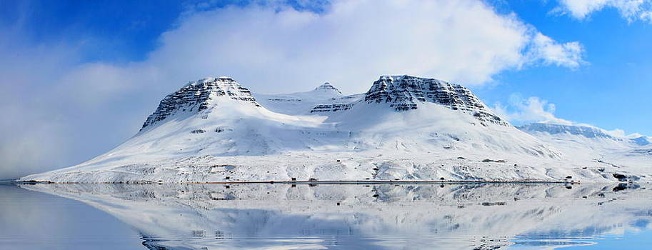 Julia Apostolova - Icelandic Sunny Spring Day Panorama