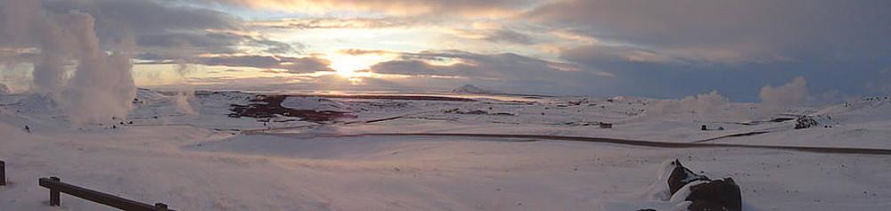 Icelandic Sunset by Derek Sherwin
