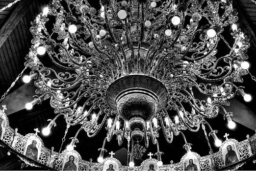 Icon Chandelier by Paul  Simpson