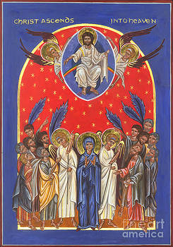 Icon of the Ascension by Juliet Venter Icons Illuminations