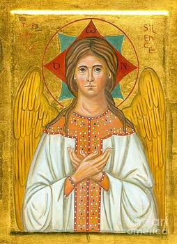 Icon of the Holy Silence by Juliet Venter Icons Illuminations