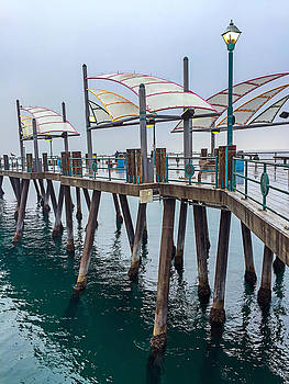 Art Block Collections - Iconic Redondo Beach Pier