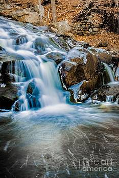 Icy Falls Sterling Forest NY by Jim DeLillo
