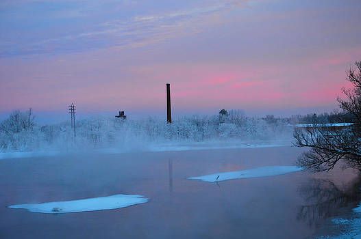 Icy Morning by Timothy Thornton