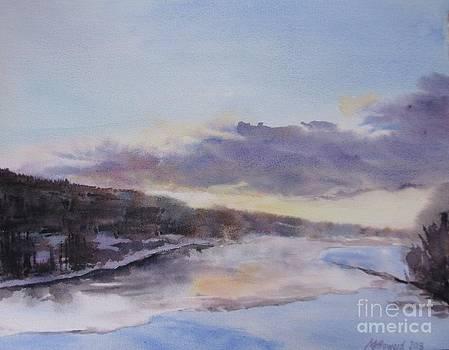 Martin Howard - Icy River Dawn