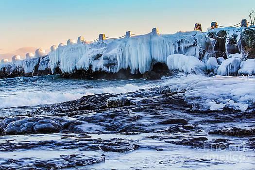 Icy Shores by CJ Benson