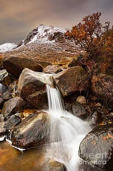 Icy Stream by Derek Smyth