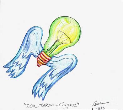 Feile Case - Idea Takes Flight