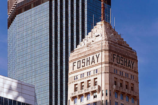 IDS and Foshay Tower by Lonnie Paulson