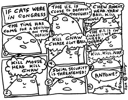 If Cats Were In Congress by Molly Brandenburg