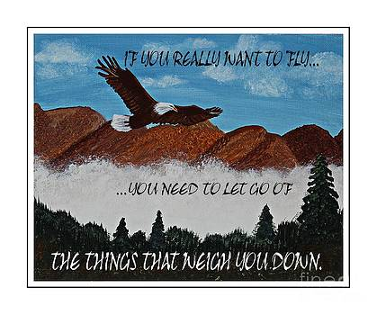 Barbara Griffin - If You Really Want To Fly - Eagle Flying