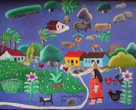 Ignacio Da Nega Tema Cena Rural 30x30 by Naifjunior Naifjunior