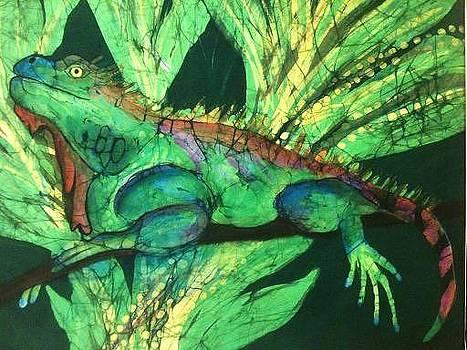 Iguana by Kay Shaffer