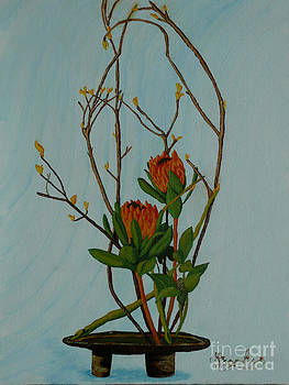 Ikebana Dancers by Anthony Dunphy
