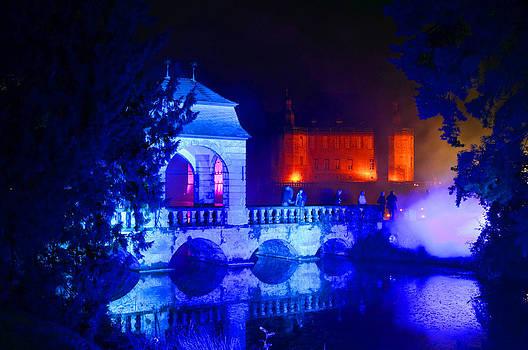 Illumina light show at Schloss Dyck Germany by David Davies